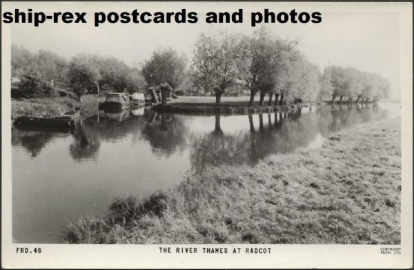 Radcot - The River Thames, Frith's postcard (b)